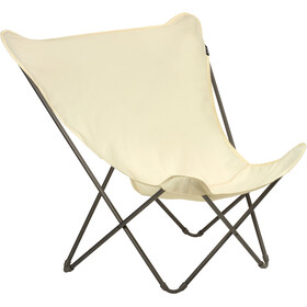 Lafuma Mobilier Pop Up XL Folding Chair Airlon + Uni, ecru